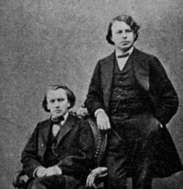 Clara Schumann Und Johannes Brahms